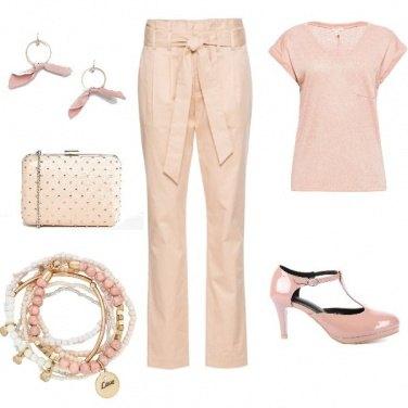 Outfit Miss Ladylike #2: gradazioni di rosa...