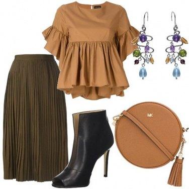 Outfit Trendy con i plissé