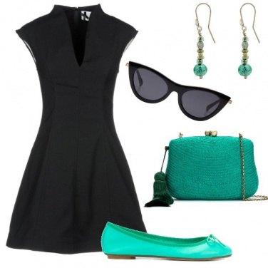 Outfit Abito e ballerine