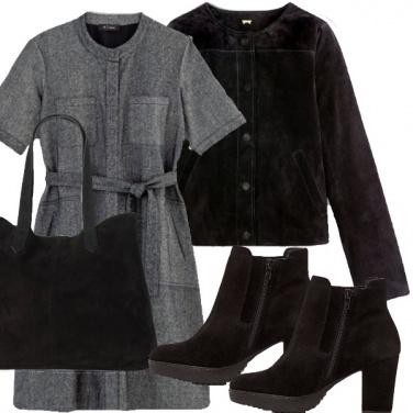 Outfit Pomeriggio grigio