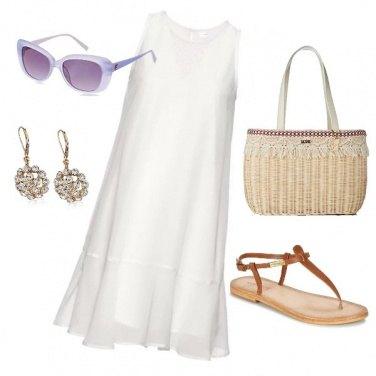 Outfit Semplicemente bianco
