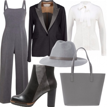 Outfit Jumpsuit anche in inverno