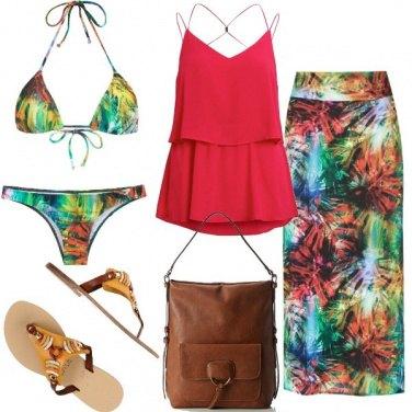 Outfit Bikini tropical