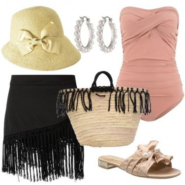 Outfit Al mare ispirandoti agli anni venti
