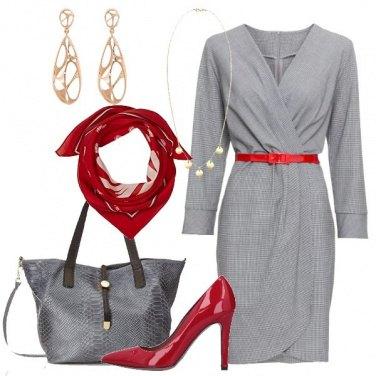 Outfit Vestito in microfantasia vicky