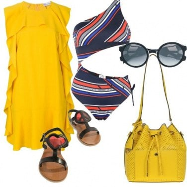 Outfit Giallo estate