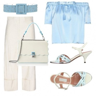 Outfit Light blue #0507