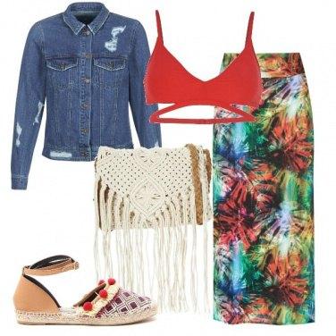 Outfit Falò al mare