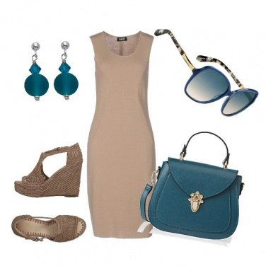 Outfit Blue Summer