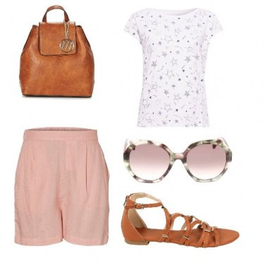 Outfit Vedere rosa