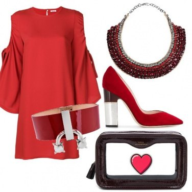 Outfit Rouge!