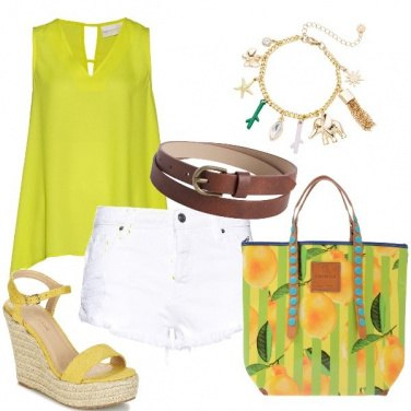 Outfit Verde lime