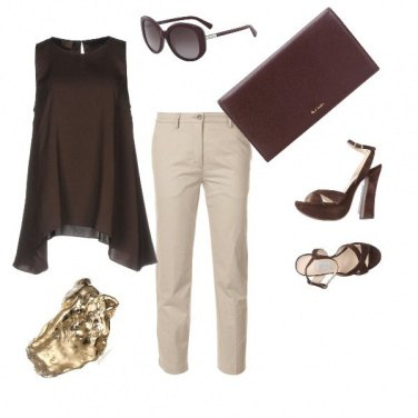 Outfit Elegantemente chic