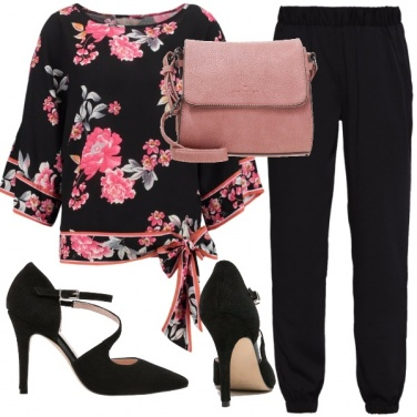 Outfit La blusa a fiori romantica