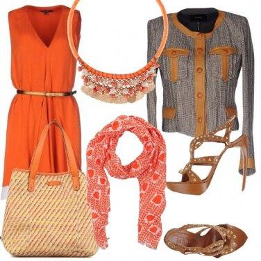 Outfit Mandarino