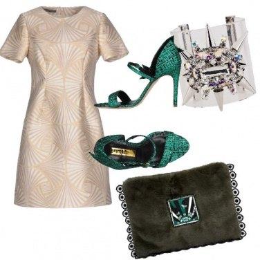 Outfit Un po' di verde smeraldo