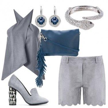 Outfit Grigio luminoso