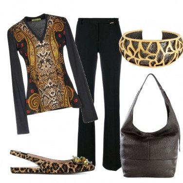 Outfit Badic in nero