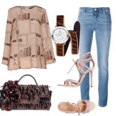 Outfit Il jeans nobilitato