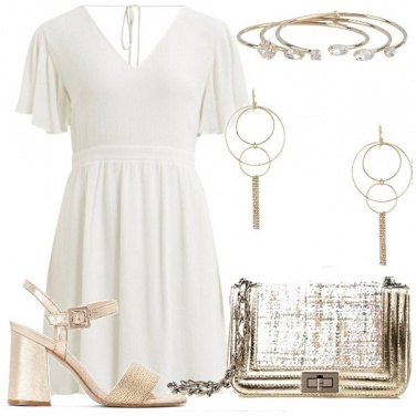 Outfit White night