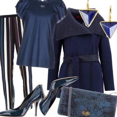 Outfit Blu su blu, si può, e con stile