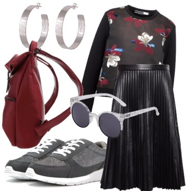 Outfit Week end sporty chic