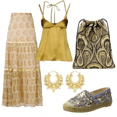 Outfit CMPS Dolce cara farfallina