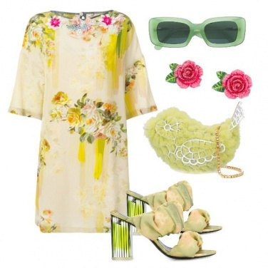 Outfit Rose e ... uccellino
