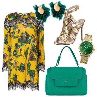 Outfit Verde e giallo