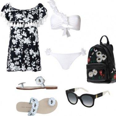 Outfit White bikini