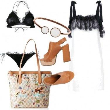 Outfit Bikini nero