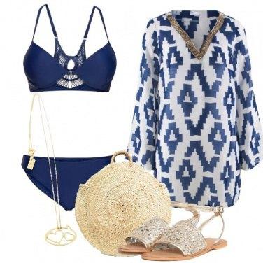 Outfit Raffinata in spiaggia