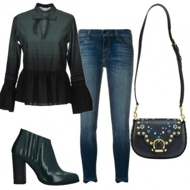 Outfit Verde scuro