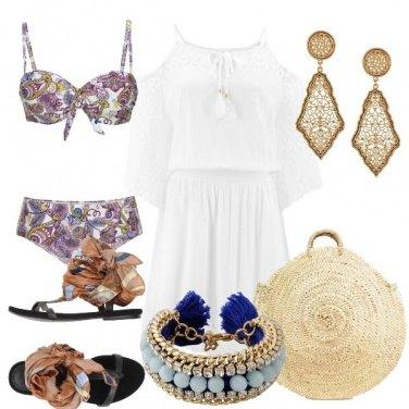 Outfit Bikini Paisley