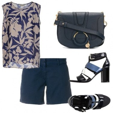 Outfit Casual in bermuda