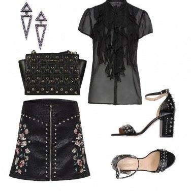 Outfit Romanticamente rock