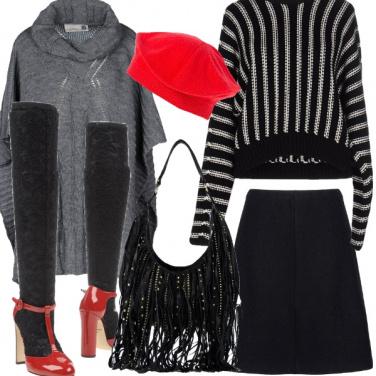 Outfit Inverno parigino
