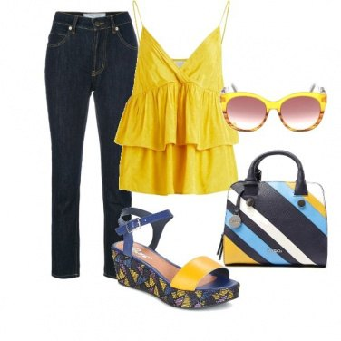 Outfit Giallo sole