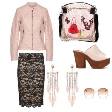 Outfit IL Rosa Antico