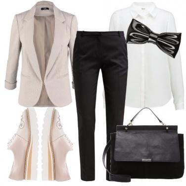 Outfit Stile mannish
