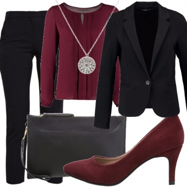 Outfit Cocktail di sera