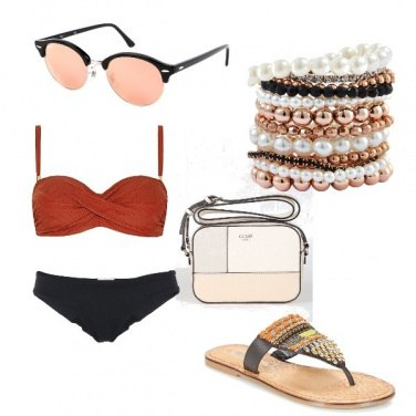 Outfit In piscina con stile...