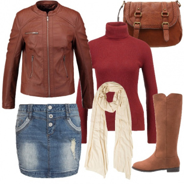Outfit Warm brown