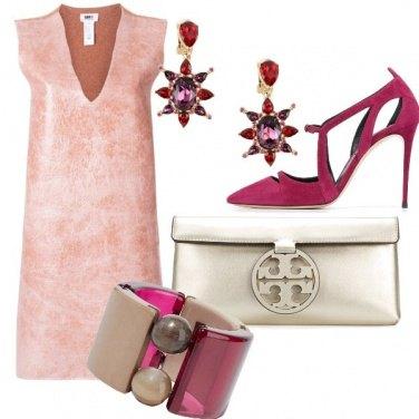 Outfit Rosa e Magenta