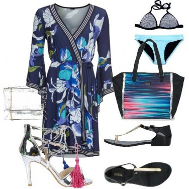 Outfit Pool Party giorno e notte