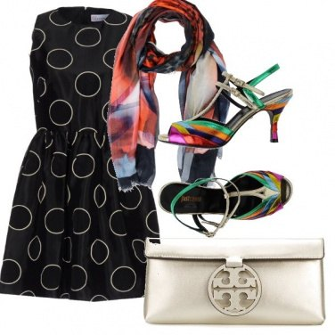 Outfit Scarpa arcobaleno