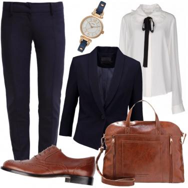 Outfit Essenziale e classico