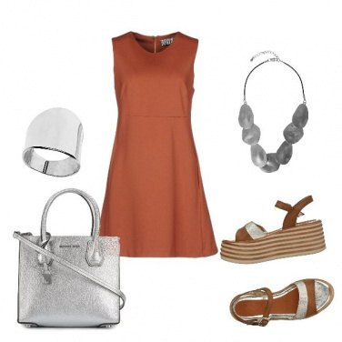 Outfit Trendy brown