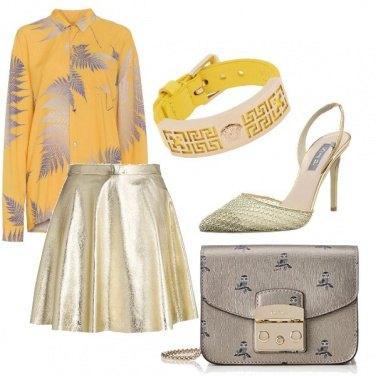 Outfit Colori metallici