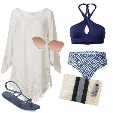 Outfit Aperitivo in riva al mare